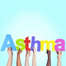 A pic that says Asthma