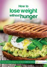 Image: How to lose weight without hunger. Image of a nice healthy sandwich