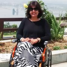 Spinal Tumour patient Deepa Malik first ever paraplegic Indian biker, swimmer, car rallyist, entrepreneur on a wheelchair