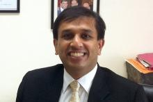 Image shows profile pic of Dr. Shailesh Shrikhande, Chief Surgical oncologist - Gastrointestinal and Hepato-Pancreato-Biliary Service, Tata Memorial Center, Mumbai.