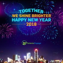 Happy New Year Greeting from PatientsEngage