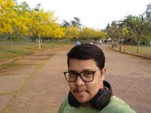 Pankaj Sethi a thalassemia major patient, wearing a green shirt on a walking/jogging track