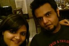 Picture has Pranay a Lymphoma survivor with his sister on the left. Picture is a little blurry