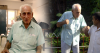 Two juxtaposed images of Parkinsons Patient Mr Zend Merwan Zend in a light shirt